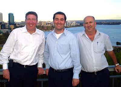 Ari Galper, Mark Fregnan, Steve Baker