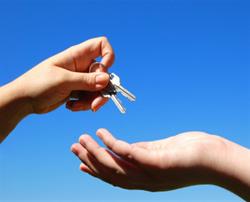 Business marketing Perth Melbourne handing keys
