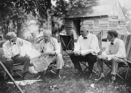 Harding Ford Edison Firestone mastermind camping