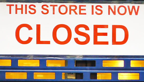 Australian business brands store now closed forever