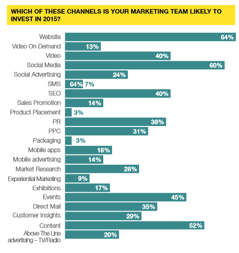 Marketing soend survey 2015
